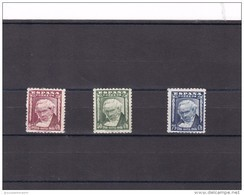 España Nº 1005 Al 1007 - 1931-50 Nuevos & Fijasellos