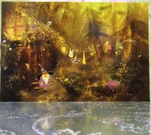Little Merlin Magic House Forest Fine Art Modern Russian Postcard By Polina Yakovleva - Trees