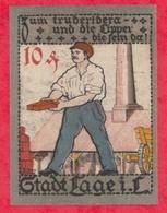 Allemagne 10 Pfenning Stadt Lage UNC N °2193 - [ 3] 1918-1933 : República De Weimar