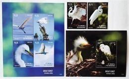 St.Vincent 2015** Mi..7581-86  + Bl.815. Seabirds MNH [18;69] - Birds