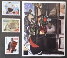 Ghana 1998** Mi.2863-66 Art [24;26] - Arts