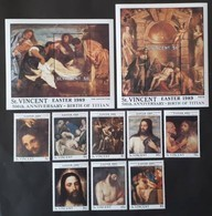 St.Vincent 1989** Mi.1192-1201   Art - Titian [24;36] - Arts