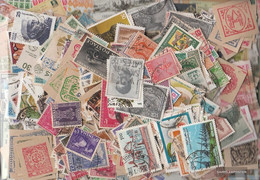 India 1.500 Different Stamps - India