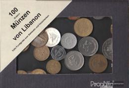 Lebanon 100 Grams Münzkiloware - Monedas & Billetes