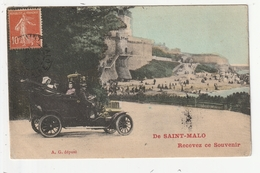 DE SAINT MALO RECEVEZ CE SOUVENIR - 35 - Saint Malo
