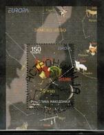 CEPT 2009 MK MI BL 19 MACEDONIA USED - Europa-CEPT