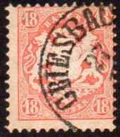 Germany Bavaria Yv# 30I Used 14mm - Bavière