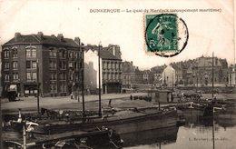 9372-2018    DUNKERQUE   LE QUAI DE MARDYCK - Dunkerque