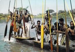 AFRIQUE En Couleurs Piroguiers (pirogue) (B) (canoe Drivers)- Editions HOA-QUI 3202 * PRIX FIXE - Senegal