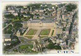 {78925} 14 Calvados Caen , L' Abbaye Aux Hommes , L Esplanade Louvel , La Place Guillouard , Vieux Saint Etienne - Caen