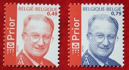 Koning Albert II OBC N° 3208-3209 (Mi 3257 3260) 2003 POSTFRIS MNH ** BELGIE BELGIEN / BELGIUM - Unused Stamps