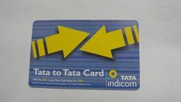 India-top Up-tata Indicom Card-(38u)-(rs.150)-(new Delhi)-(30day After)-used Card+1 Card Prepiad Free - India