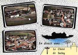 91 .  N° 200840  .  SACLAY .  SOUVENIR DE SACLAY  .  CPSM . 14,5 X 10,5 - Saclay