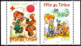 France Bandes Dessinées N° 3467 P ** Fête Du Timbre 2002 - Boule Et Bill - Bandes Dessinées
