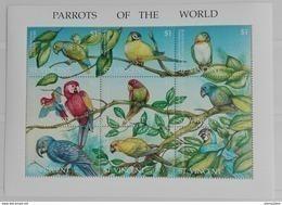 St. Vincent 1995** Klb.3053-61. Parrots Of The World MNH [4;36] - Parrots