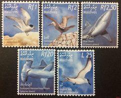 Maldives 2002** Mi.3982-86. Birds [20;68] - Seagulls