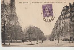 C.P.A. - PARIS - L'AVENUE ELYSEE RECLUS - CHAMP DE MARS - LIP - 140 - - Otros