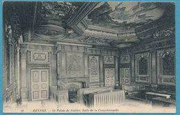 RENNES - Le Palais De Justice. Salle De La Correctionnelle - Carte Circulé 1912 - Rennes