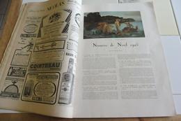 L'ILLUSTRATION 5 DECEMBRE 1925-SPECIAL NOËL- BELLES AQUARELLES,PASTELS, GRAVURES - Journaux - Quotidiens