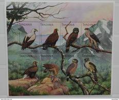 Tanzania 1996** Klb.2410-17. Predatory Birds MNH [4;47] - Birds