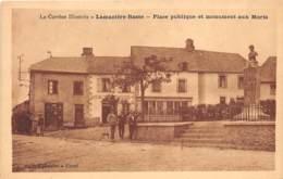 19 - Corrèze / 10020 - Lamazière Basse - Place Publique Et Monument Aux Morts - Francia