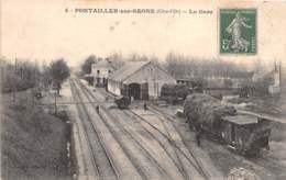 21 - Côte D' Or / 10012 - Pontailler Sur Saone - La Gare - France