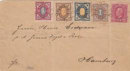 L ETTRE COVER. SWEDEN SVERIGE. 5 5 1894. OBORSSEN TO HAMBURG GERMANY /  122 - Timbres