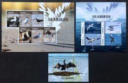 Mayreau 2015** Klb.372/377,klb378/81,bl.70. Seabirds MNH [18;8,7] - Arts