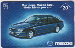 AUSTRIA - F232 - MAZDA 626 - 3.720ex. - Oesterreich