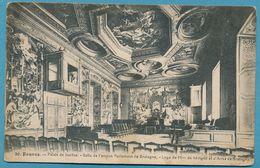 RENNES Le Palais De Justice Salle De L'Ancien Parlement De Bretagne Loge De Mme De Sévigné Et D'Anne De Bretagne - 1917 - Rennes
