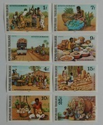 Togo 1980** Mi.1477-84. Marketplace MNH Imperforated [17;130] - Cultures