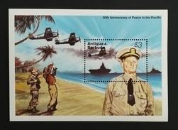 Antigua Barbuda 1995** Bl.317. Peace In The Pacific [19;28] - Guerre Mondiale (Seconde)