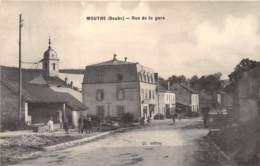 25 - Doubs / 10007 - Mouthe - Rue De La Gare - Altri Comuni