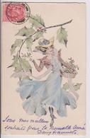 LOT DE 10 CPA DE NOUVEL AN : BONNE ANNEE 1903 - TOUTES ONT CIRCULE - TOUTES SCANNEES RECTO VERSO - 20 SCANS - - Cartes Postales