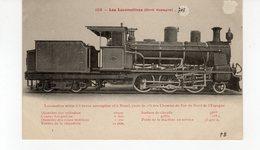 Les Locomotives (Nord Espagne) Locomotive Mixte Des Chemins De Fer Du Nord De L'Espagne - Treinen
