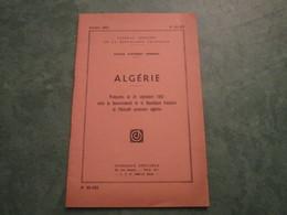 Journal Officiel - ALGERIE - Protocoles Du 24 Septembre 1962  (24 Pages) - N°62-182 - Politique