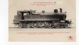 Les Locomotives ( Espagne) Locomotive Tender Des Chemins De Fer De Madrid  Sarragosse Alicante. (voie De 1 M.676) - Treinen