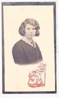 DP Foto - Agnes P. Van De Vyver / Rowies 17j. ° Hekelgem Affligem 1914 † Erembodegem Aalst 1931 - Devotieprenten