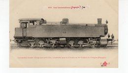 Les Locomotives ( Espagne) Locomotive Tender Pour Le Chemin De Fer Central De L'Aragon (Espagne) - Treinen