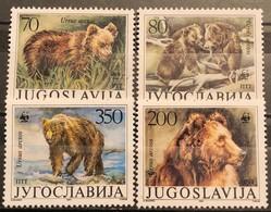 Yugoslavia, 1988, Mi: 2260/63 (MNH) - W.W.F.
