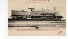 Les Locomotives ( Espagne) Locomotive Compound Pour Le Chemin De Fer Andalous (Voie De 1 M.676) - Treinen