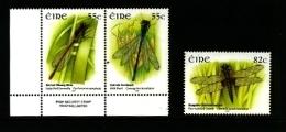 IRELAND/EIRE - 2009  DRAGONFLIES  SET  MINT NH - Nuovi