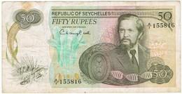 SEYCHELLES 50 RUPPEES - Seychelles