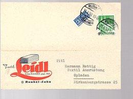Textil Leidl Kaaden Runkel-Lahn> Hermann Retting Opladen (433) - Briefe U. Dokumente