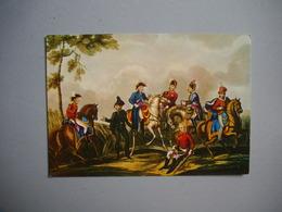 WATERLOO  -  Conseil Entre Les Maréchaux  -  Epoque Napoléon 1er  -  BELGIQUE - Waterloo