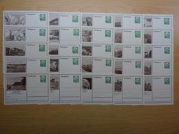 Deutschland - 1954/5 - 25 Bildpostkarten - [7] West-Duitsland