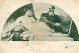 ITALY - Tizian - Hans Makart -  1899 Very Good Postmarks Etc - Undivided Rear Etc - Pintura & Cuadros