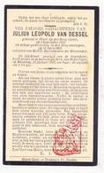 DP Julius L. Van Dessel 20j. ° Heist-Goor Heist-op-den-Berg 1914 † 1935 - Devotieprenten