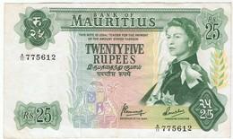 MAURICE - 25 RUPEES - Maurice
