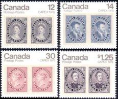 (C07-53-56c) Canada Victoria Jacques Cartier Prince Albert MNH ** Neuf SC - Expositions Philatéliques